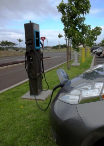 OpConnect EV Charging Station near Foodland in Maui